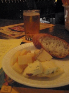 Blue Point Summer Ale & Cheese!