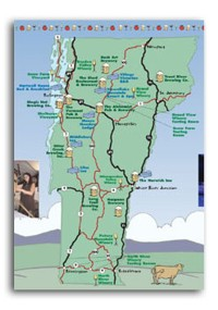 map of vermont breweries Vt Brewcation The Short Story The Hops Honey map of vermont breweries